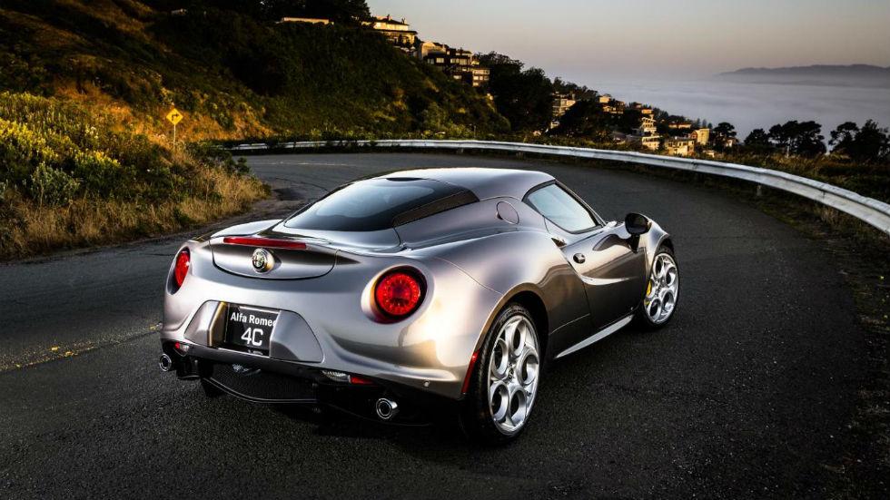 Alfa Romeo 4C 2016 Trasera