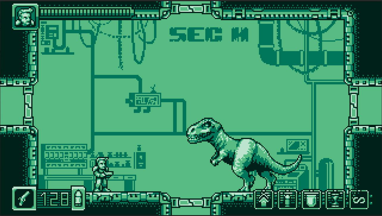 Alien Dinosaurs - captura