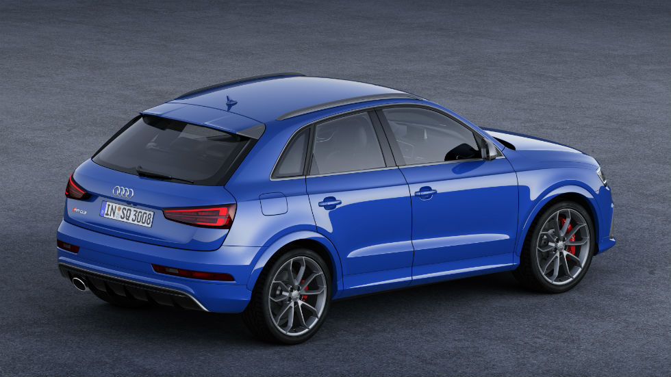 Audi RS Q3 Performance Trasera
