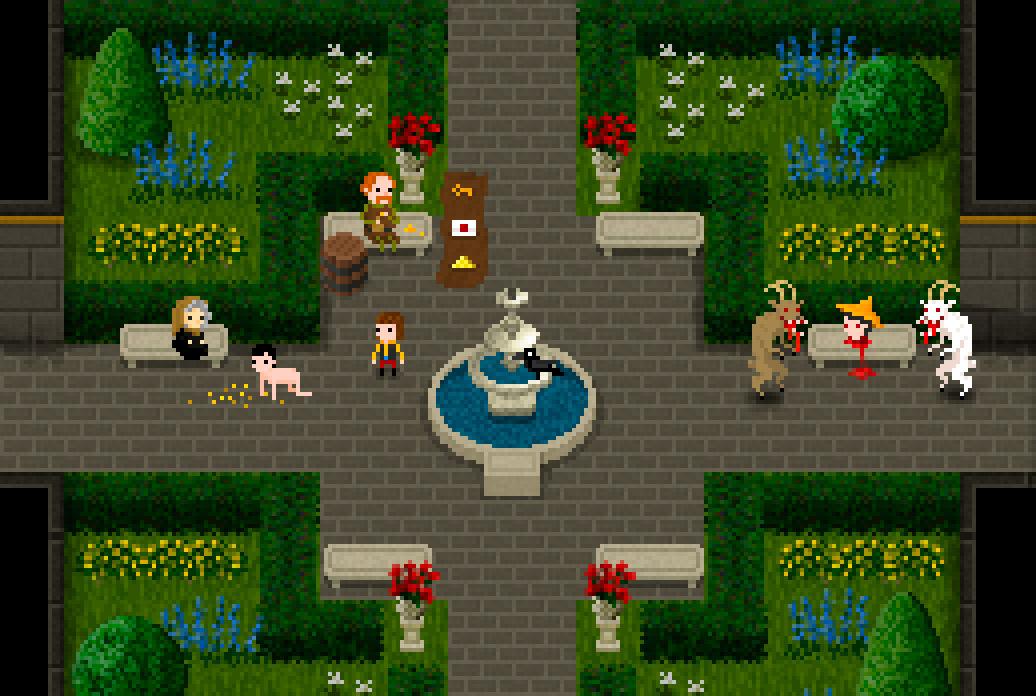 El Conde Lucanor - Captura jardín