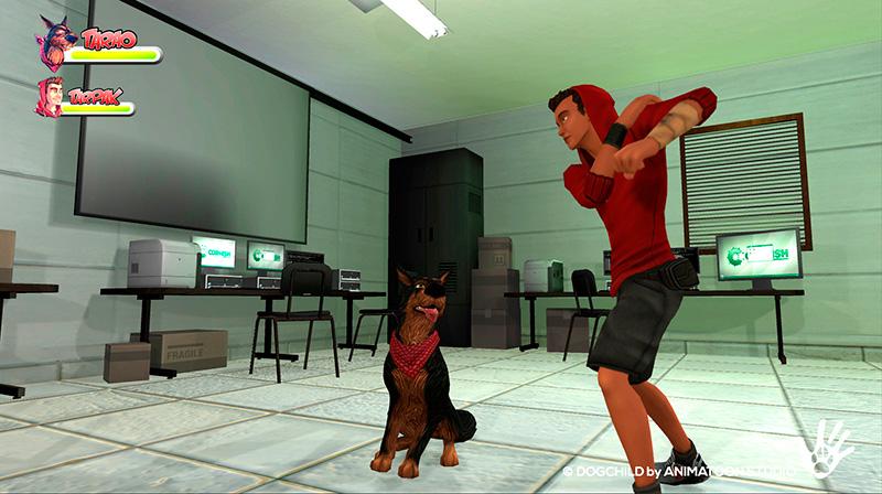 DogChild laboratorio