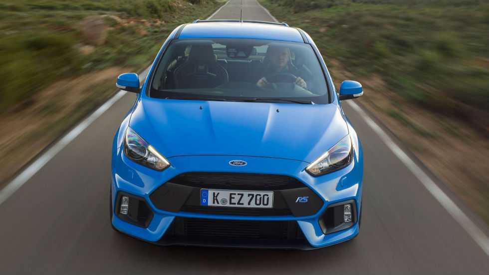 Ford Focus RS frontal