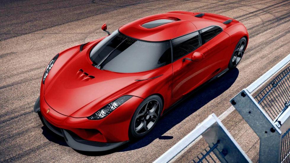 Koenigsegg Regera 4 puertas
