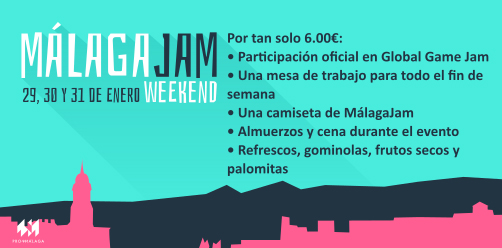 Málaga Jam 3 - Global Game Jam