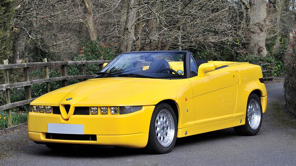 Alfa Romeo RZ subasta amarillo