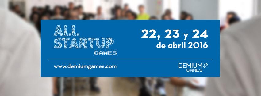 AllStartup Games 2 - fechas