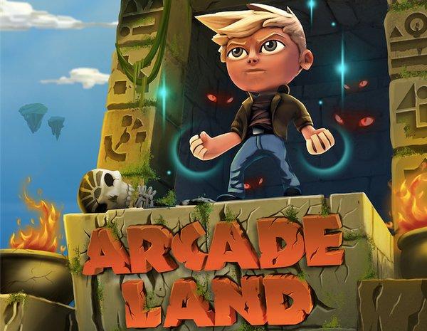 Arcade Land página web