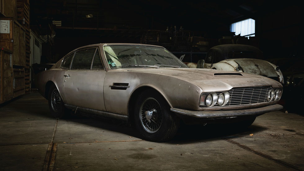 Aston Martin DBS clásico 1968
