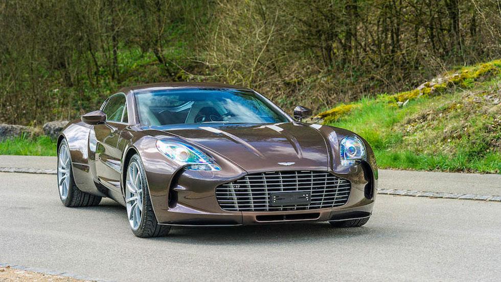 Aston Martin One-77 77 superdeportivo