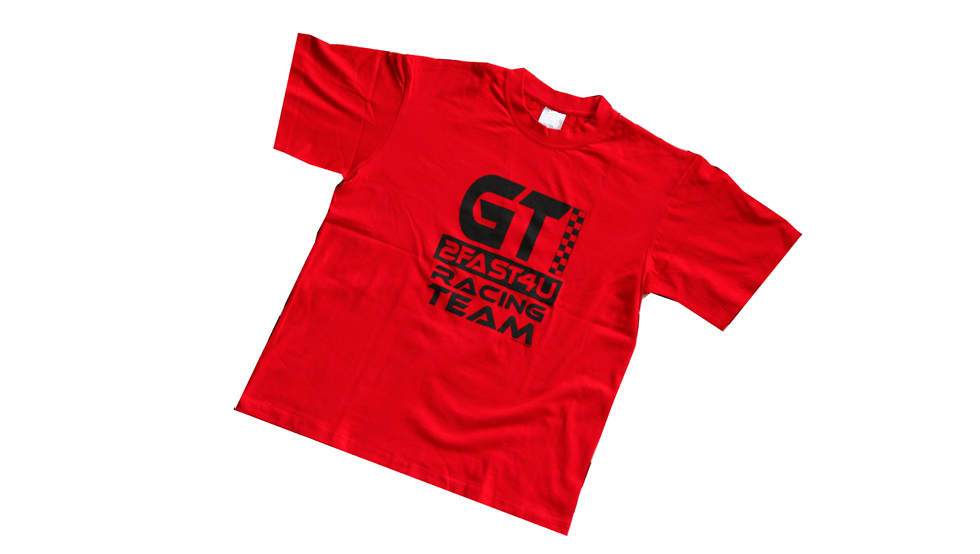 Camiseta Golf GTI 40 Roja