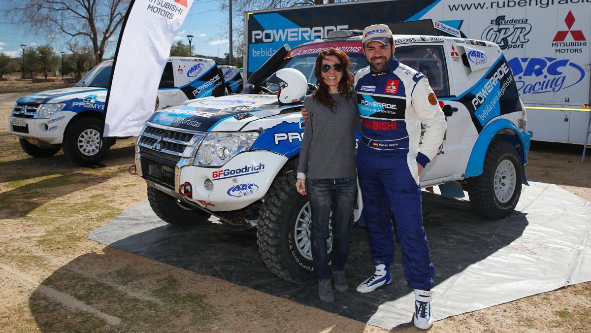 Entrevista Rubén Gracia, Mitsubishi Montero T3