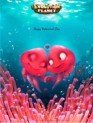 Evolution Planet - San Valentín