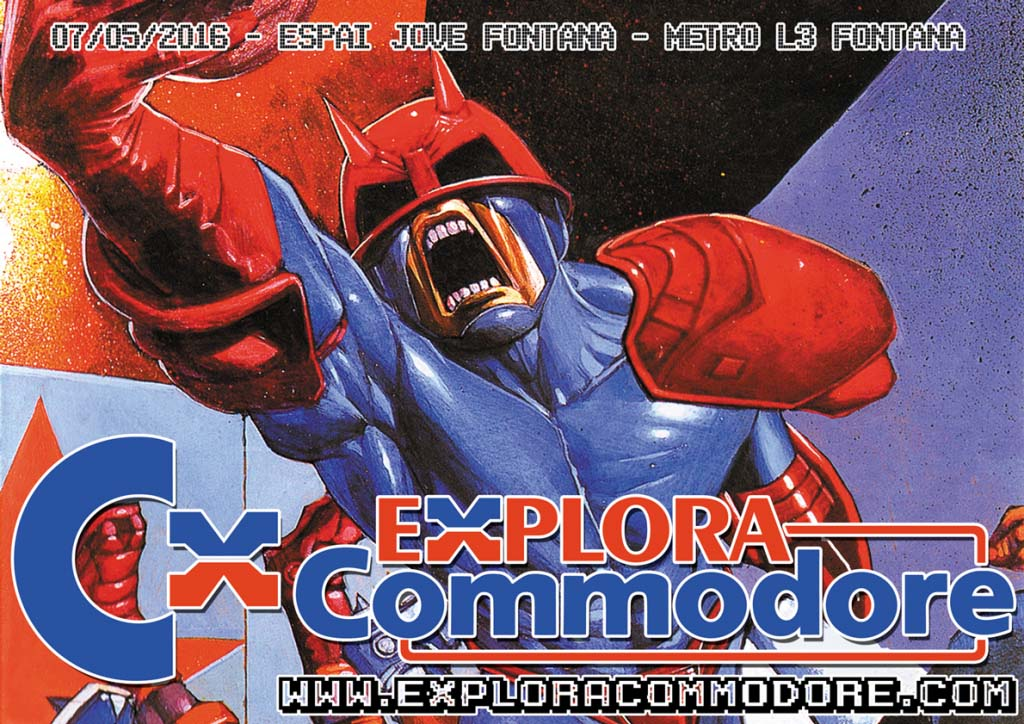 Explora Commodore segunda edición cartel