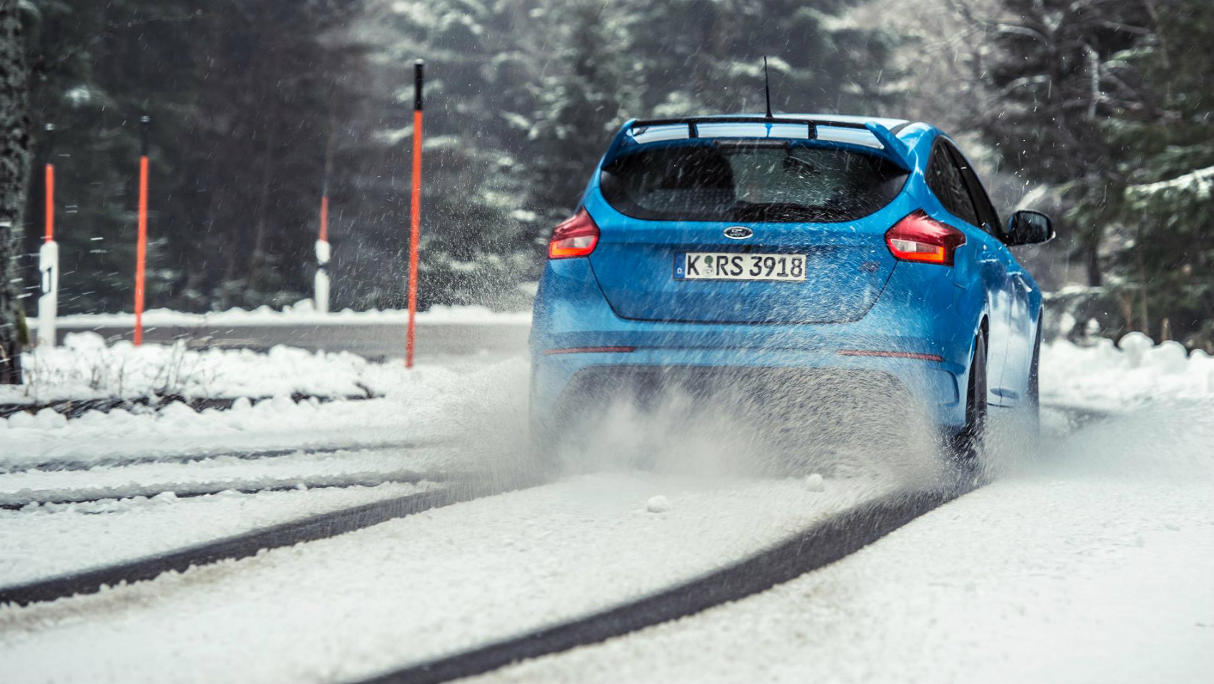 Ford Focus RS derrape big read