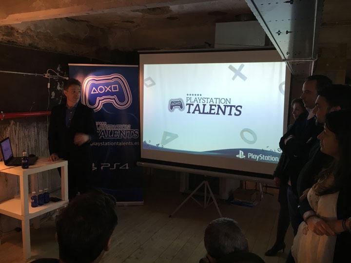 Jorge Huguet Presentación PlayStation Talents