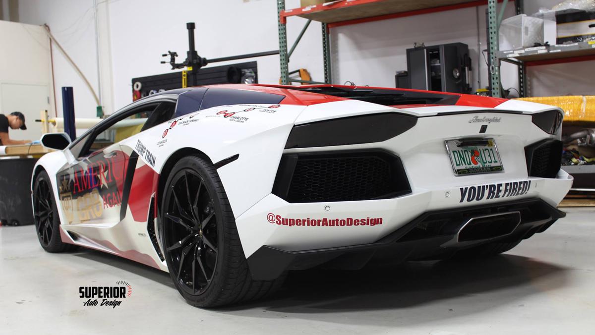 Lamborghini Aventador Donald Trump, 3