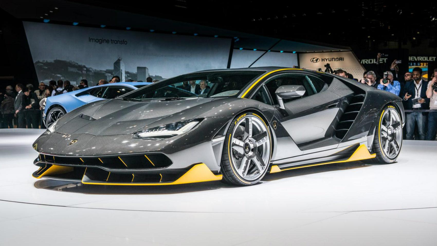 Lamborghini Centenario Salón de Ginebra 2016