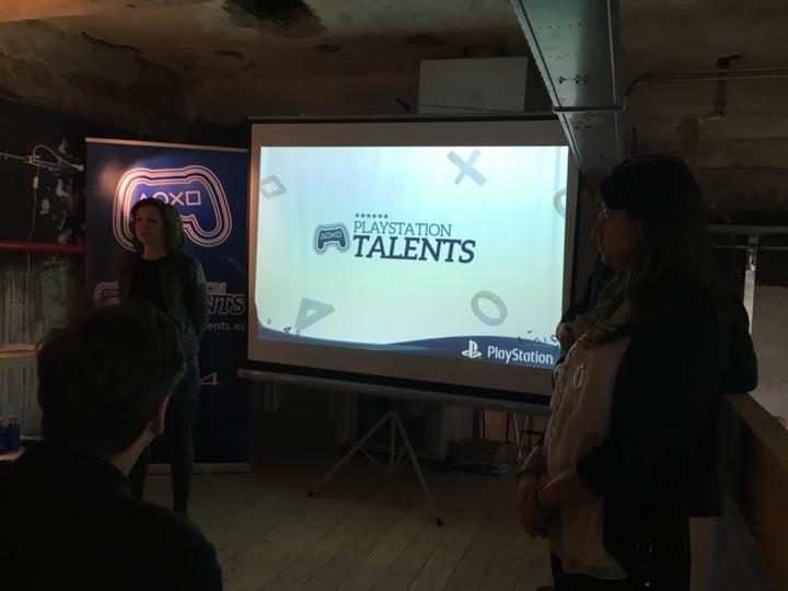 Liliana Laporte Presentación PlayStation Talents