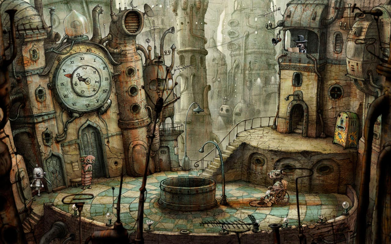 Machinarium, referencia de Nubla 2