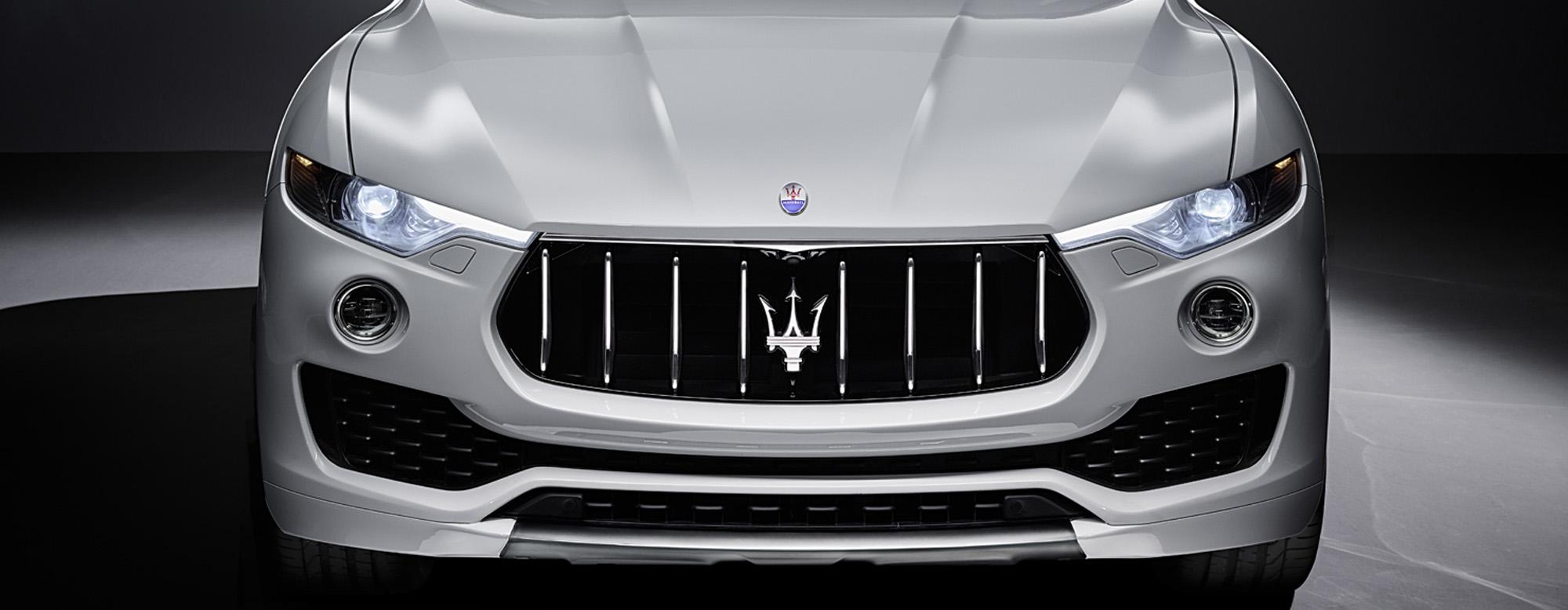 El Maserati Levante 2016 y sus nuevos grupos ópticos