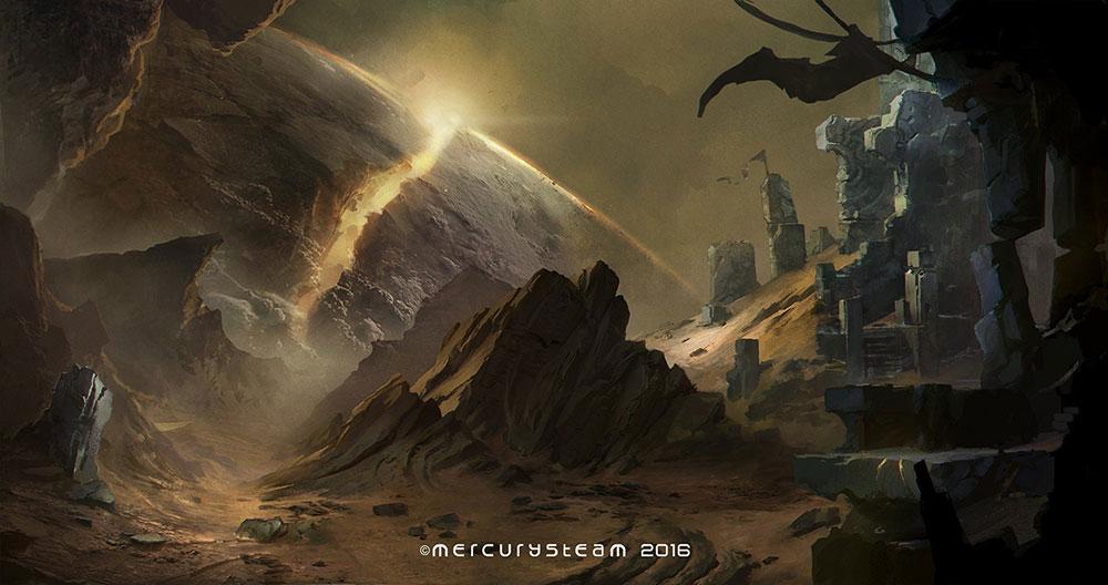 MercurySteam - nuevo juego (concept art localización)