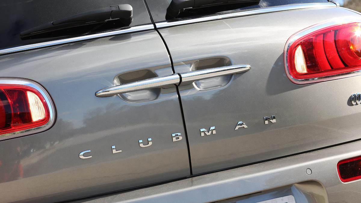 Mini Clubman Cooper S, detalle portón