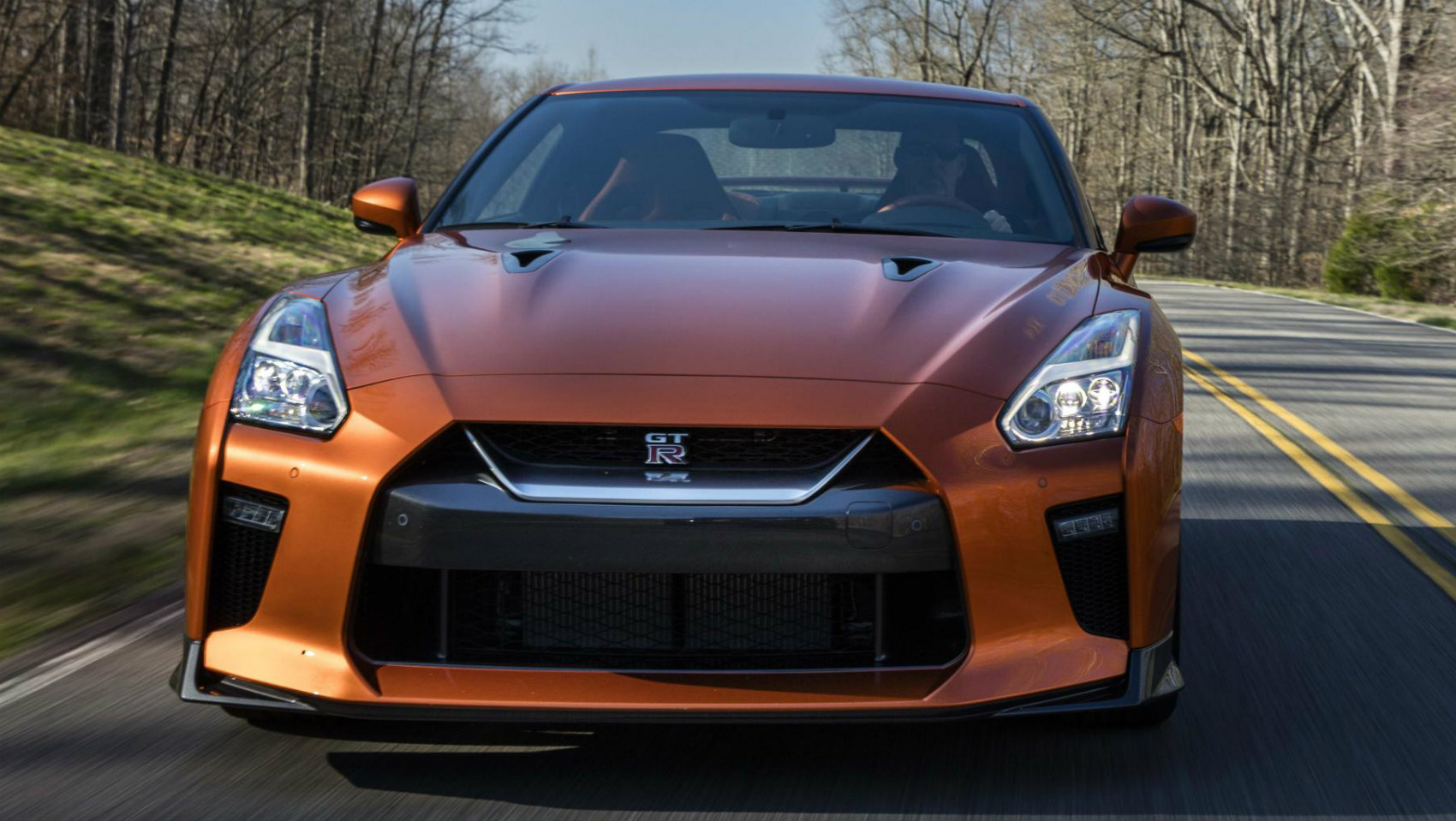 Nissan GT-R 2017 frontal