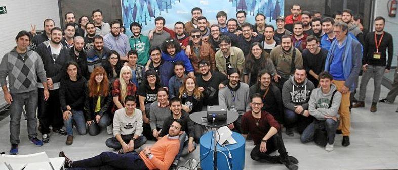 Organizadores, coachs, y participantes de la Game Jam ODB 2016