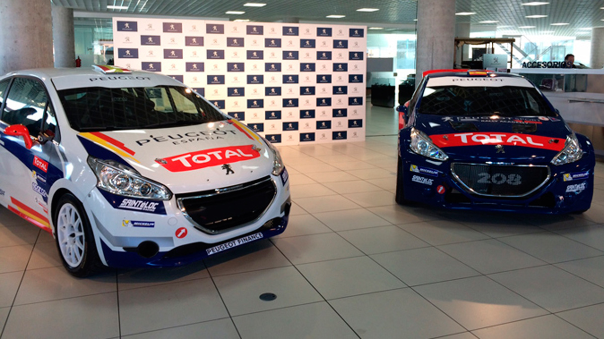 Peugeot España Racing Team, coches