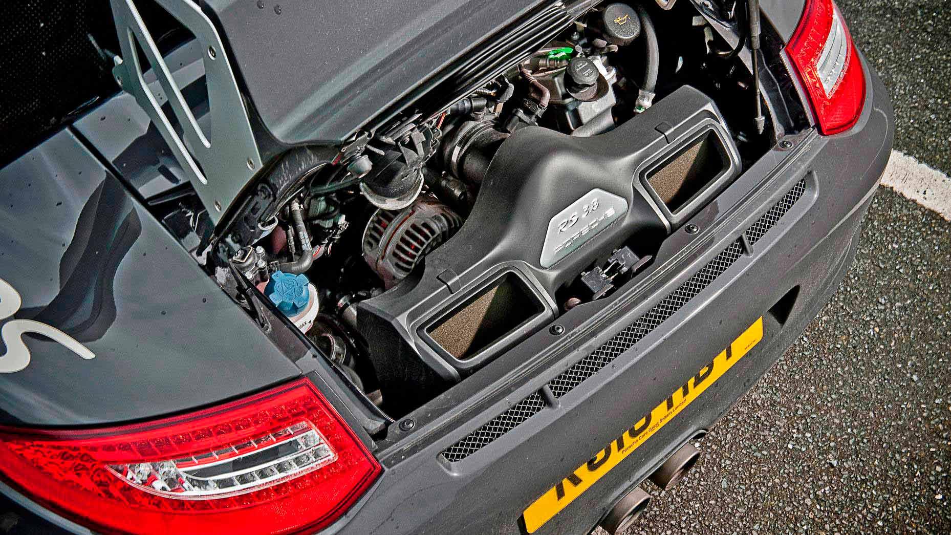 El motor del Porsche 911 GT3 RS