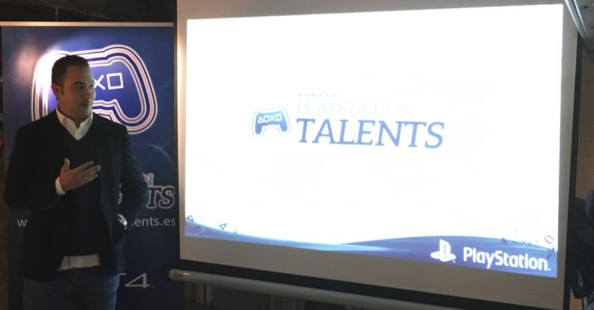 Roberto Yeste Presentación PlayStation Talents