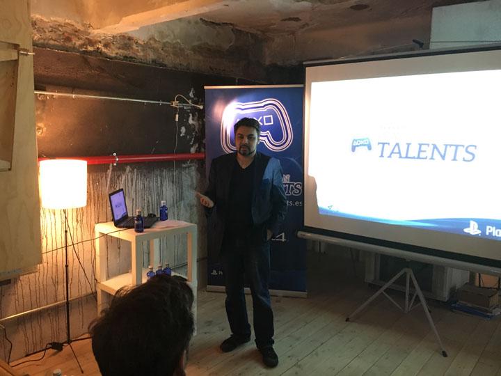 Shahid Ahmad Presentación PlayStation Talents