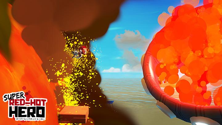 Super Red Hot Hero nuevas imágenes 2