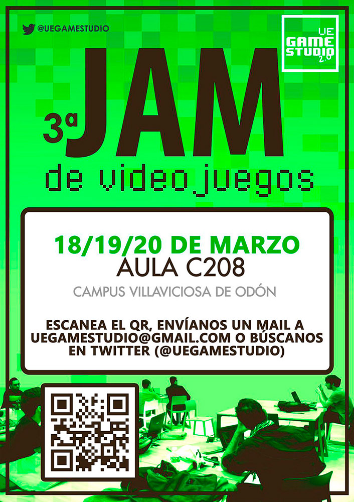 UE Game Studio - 3ª jam