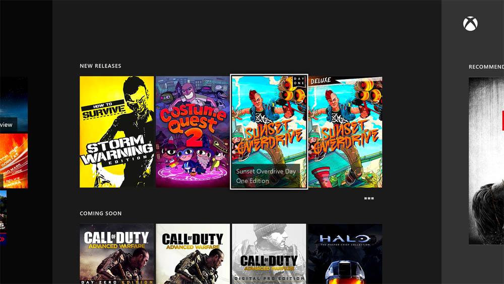 Xbox One Store