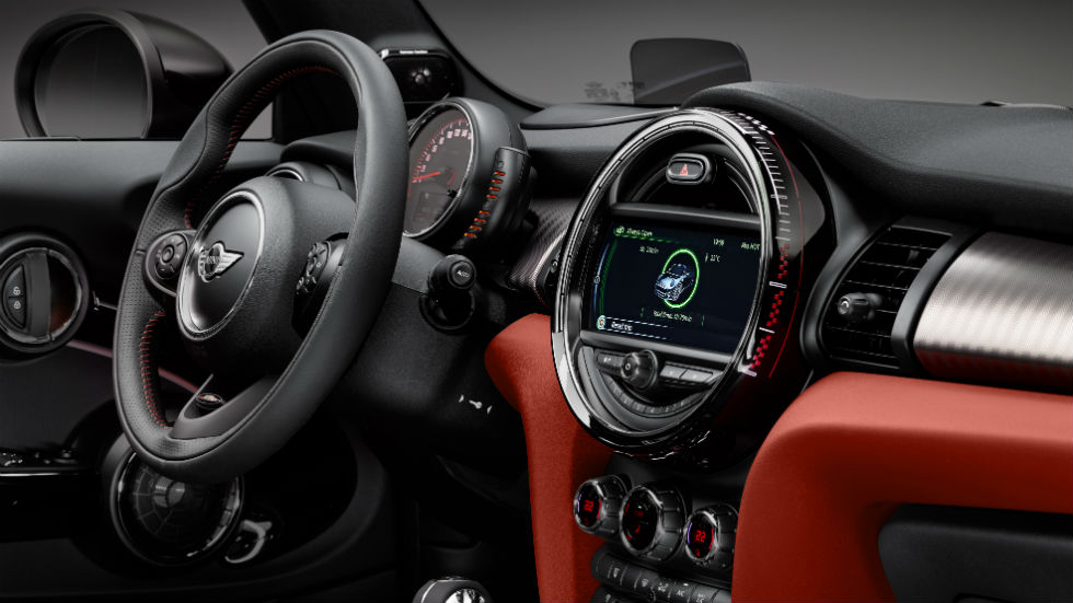 Mini John Cooper Works Cabrio 2016 Interior