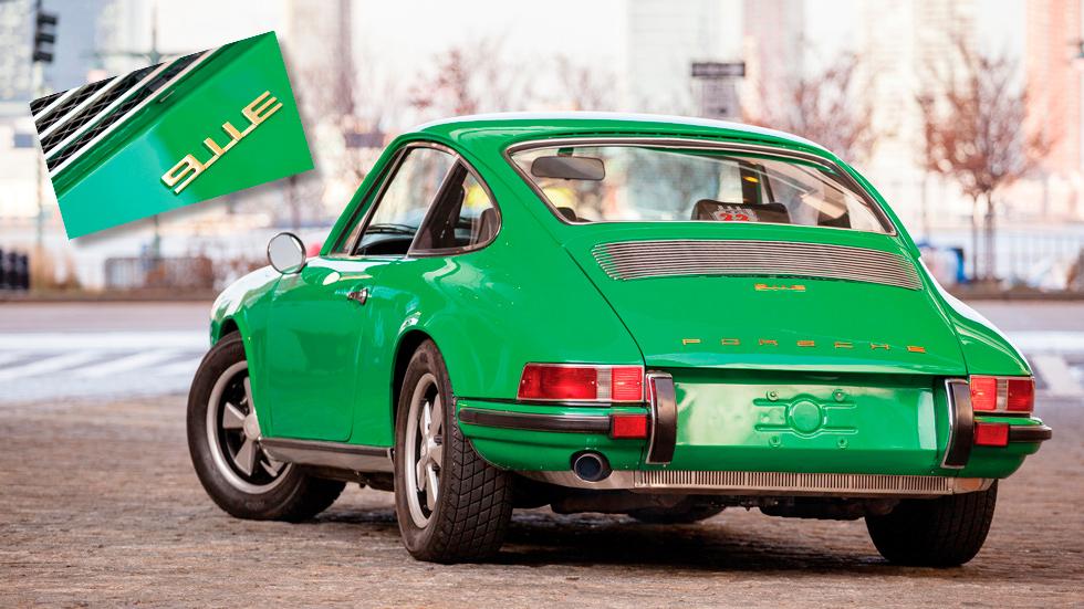 Un Porsche 911 E no siempre ha significado que sea eléctrico...