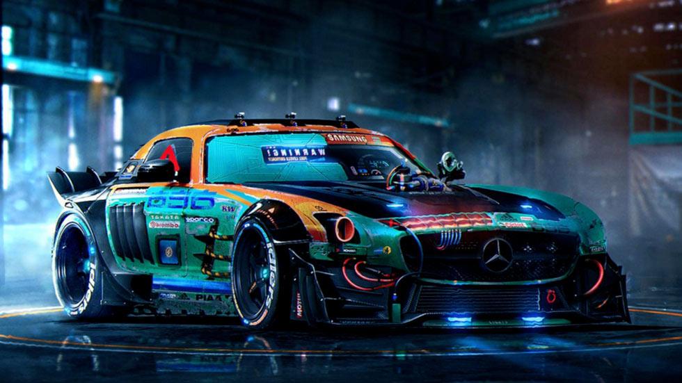 Render Mercedes