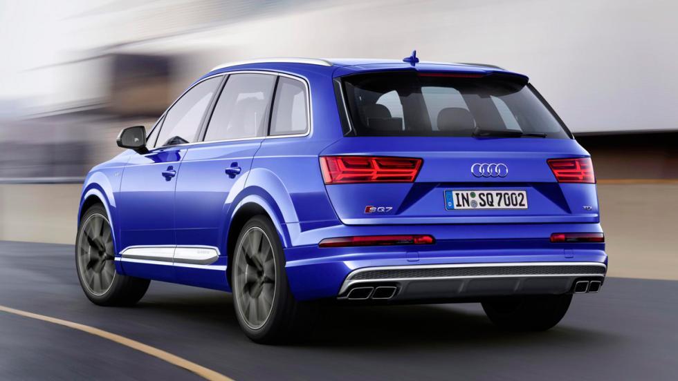 Audi SQ7, trasera