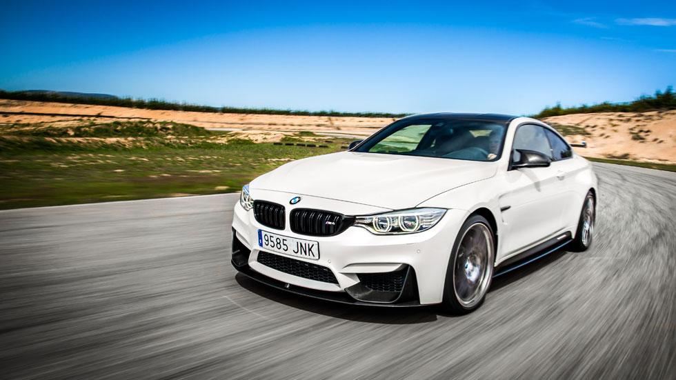 BMW M4 Competition Sport Edition frontal dinámica circuito