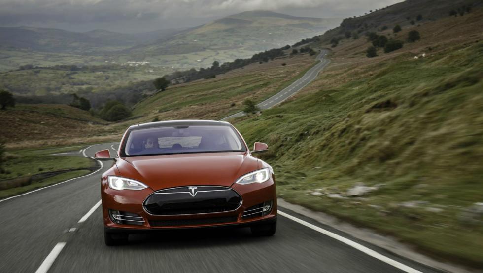 Tesla Model S P90D, frontal