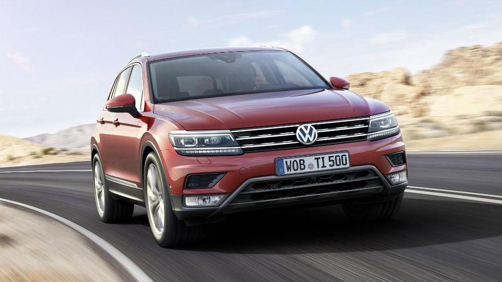 Volkswagen Tiguan 2016 Delantera