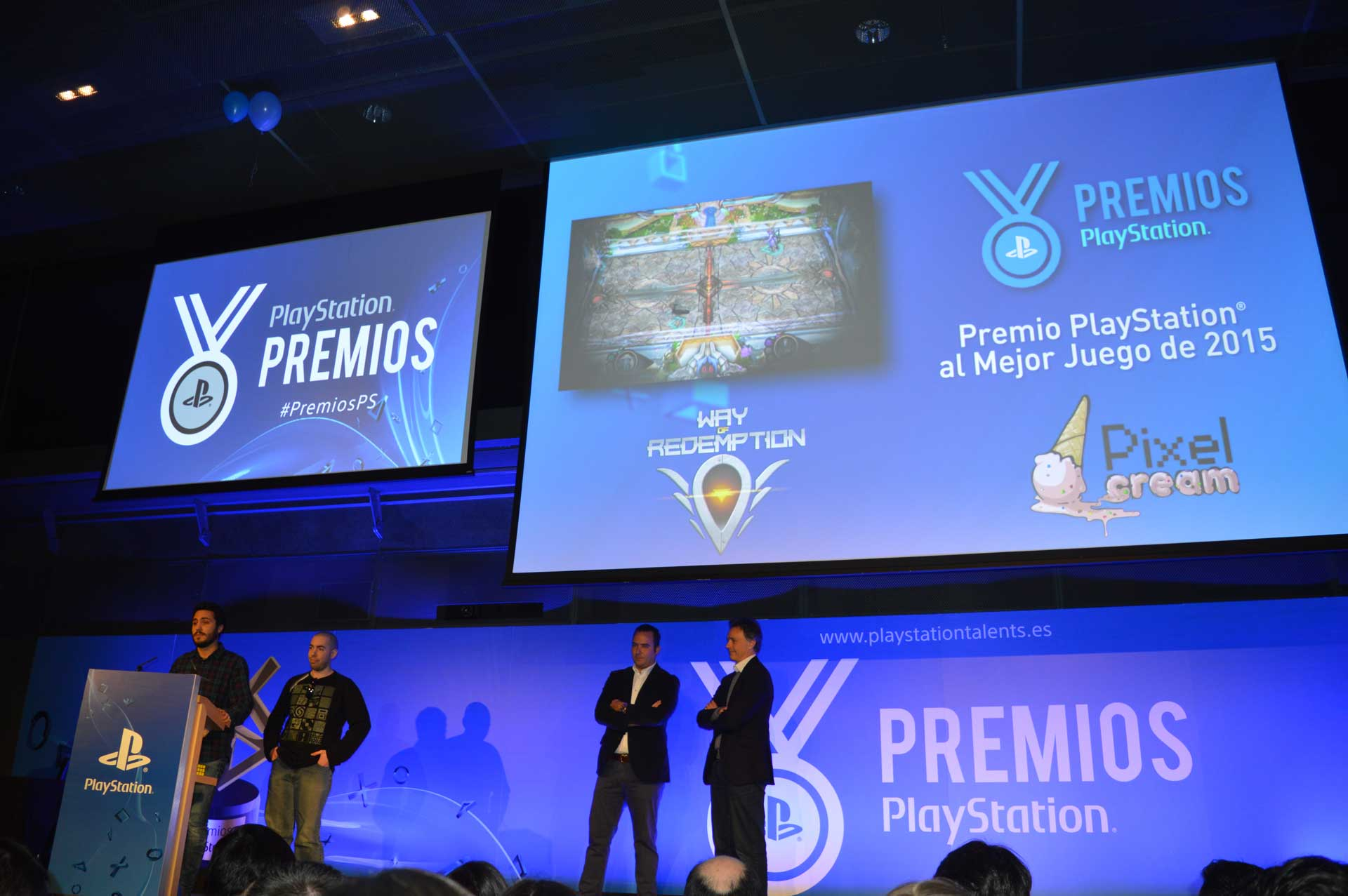 Way of Redemption Premios PS 1