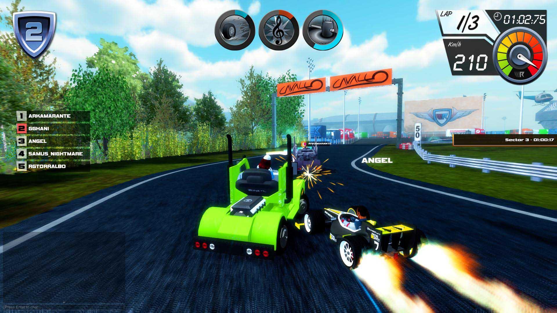 Wincars Racer está inspirado en los arcades de conducción de los 90
